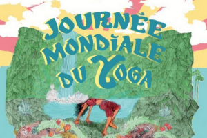 Illustration : Journée mondiale du yoga avec la Mairie de Saint-Denis
