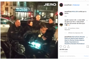 Illustration : Le rappeur martiniquais Kalash arrêté par la police à Paris