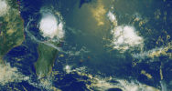Illustration : Belna, cyclone tropical, Mayotte, alerte orange