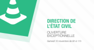 Illustration : Direction Etat Civil Saint-Denis
